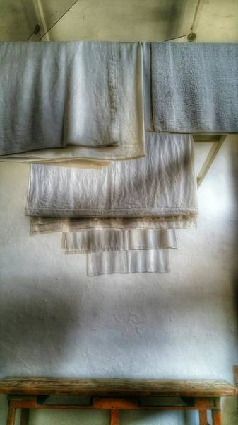 Photograph - Towels And Sheets by Abbie Shores