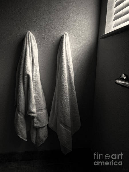 Photograph - Towels by Jeff Breiman