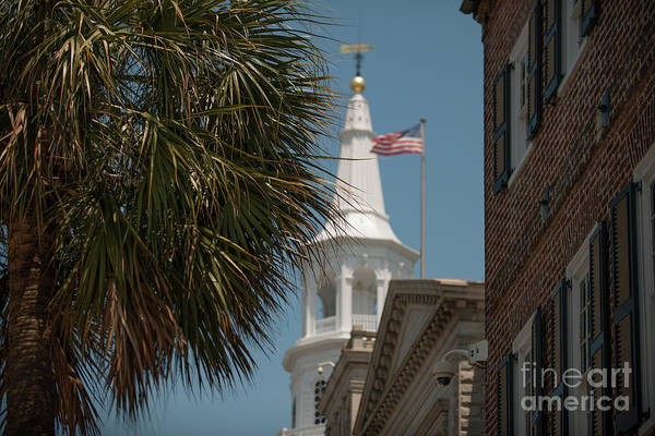Photograph - St. Michaels Episcopal Church In Charleston by Dale Powell