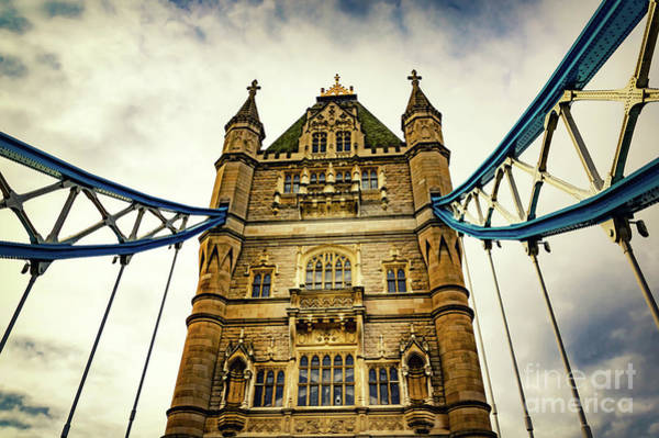 Photograph - Tower Bridge 02 by Angela Doelling AD DESIGN Photo and PhotoArt