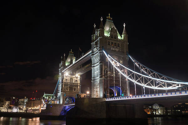 Photograph - Tower Bridge by Alex Lapidus