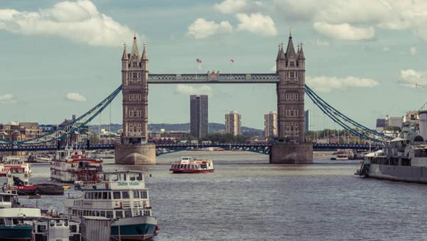 Photograph - Tower Bridge B by Jacek Wojnarowski