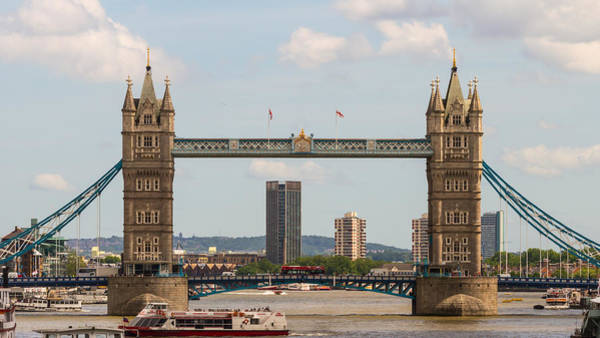 Photograph - Tower Bridge C by Jacek Wojnarowski