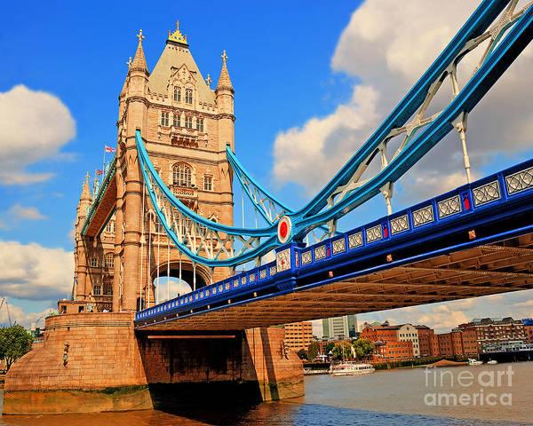 Wall Art - Photograph - Tower Bridge by Chris Smith