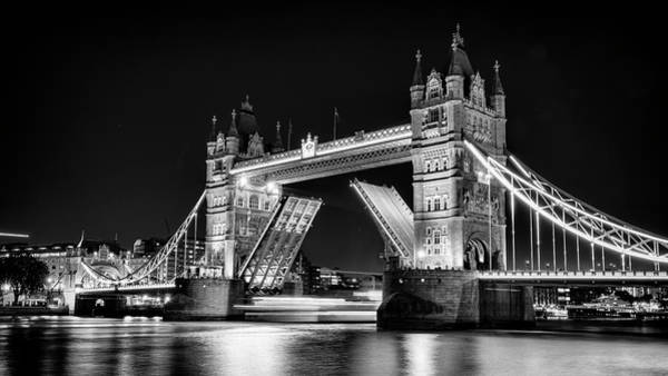 Wall Art - Photograph - Tower Bridge Evening by Stephen Stookey