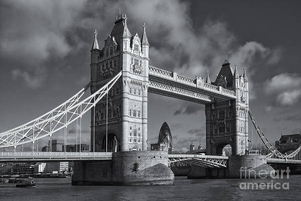Photograph - Tower Bridge II by Clarence Holmes