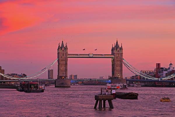 Photograph - Tower Bridge London by Andy Myatt