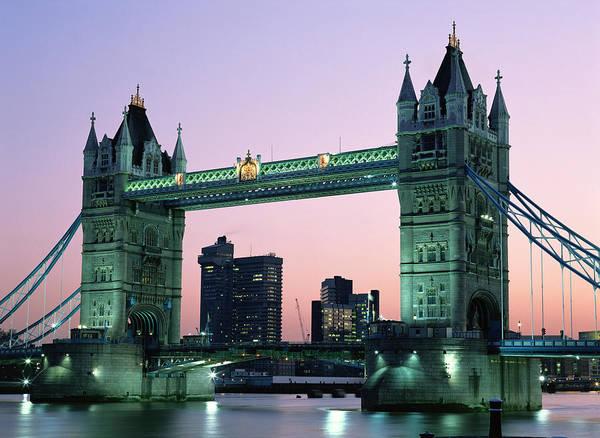 City Digital Art - Tower Bridge by Maye Loeser
