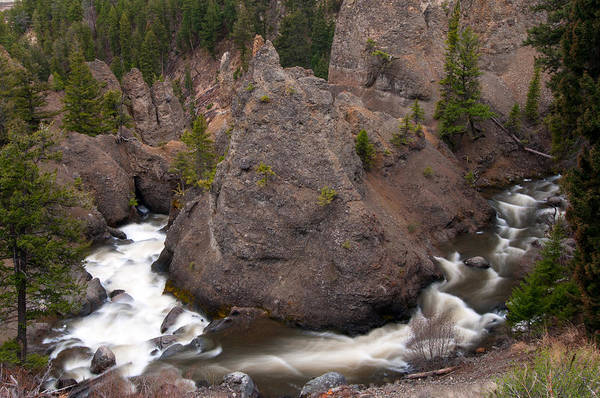 Photograph - Tower Creek by Steve Stuller
