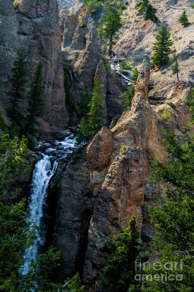 Gulick Photograph - Tower Falls by Jeremy Gulick