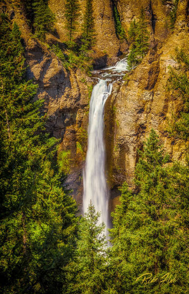 Photograph - Tower Falls by Rikk Flohr