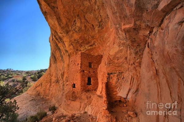 Photograph - Tower House Ruin by Adam Jewell