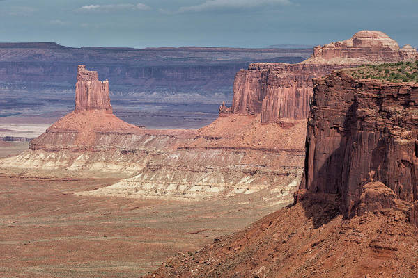Photograph - Tower In The Canyon by Denise Bush
