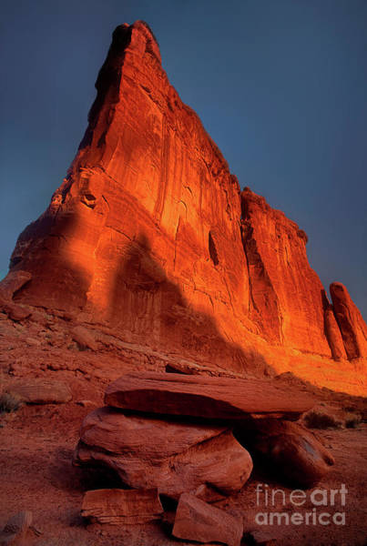 Photograph - Tower Of Babel Arches National Park Utah by Dave Welling