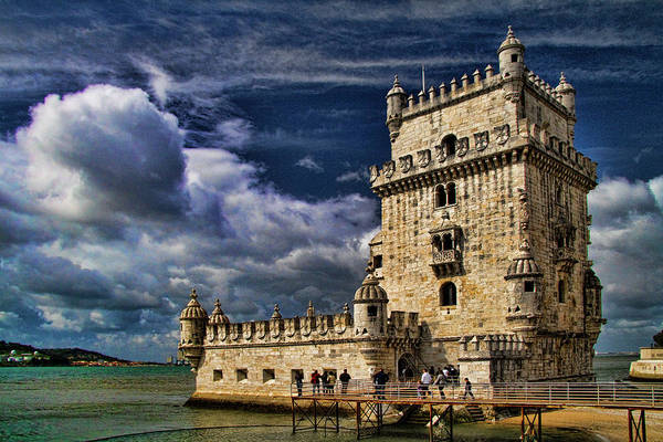 Lisbon Castle Photograph - Tower Of Belem In Lisbon by David Smith