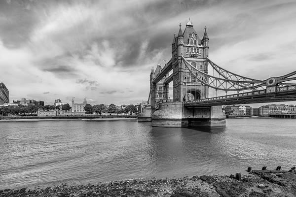 Capital Of Georgia Photograph - Tower Of London And Bridge by Georgia Fowler