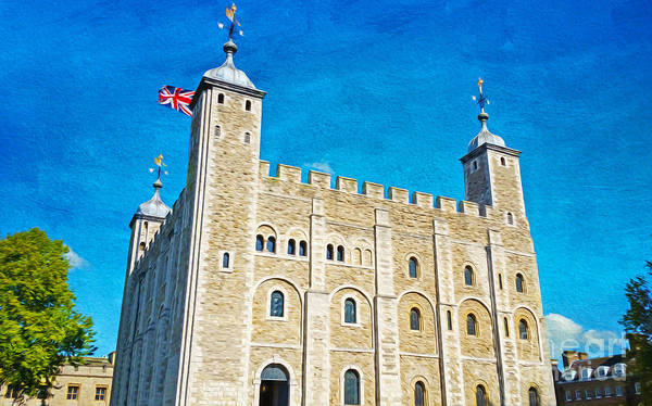 Greater London Photograph - Tower Of London by Laura D Young