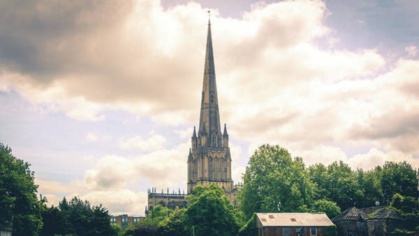 Photograph - Tower Of St Mary Redcliffe East Side Bristol England by Jacek Wojnarowski