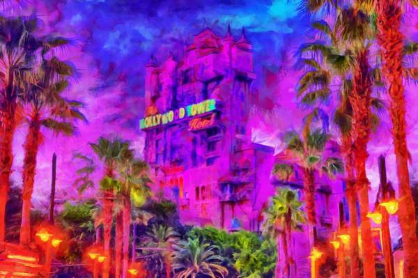 Digital Art - Tower Of Terror by Caito Junqueira