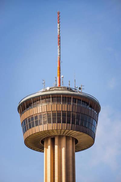 Photograph - Tower Of The Americas San Antonio Texas - Color by Gregory Ballos