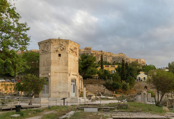Wall Art - Photograph - Tower Of The Wind-gods In Roman Agora And Acropolis by Iordanis Pallikaras