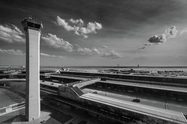Wall Art - Photograph - Tower O'hare Airport by Steve Gadomski
