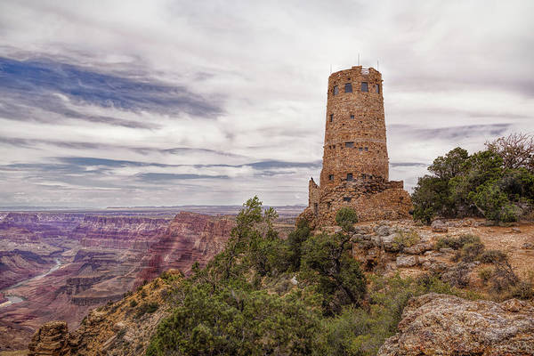 Photograph - Tower On The Canyon by John M Bailey