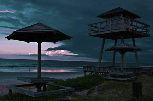Ormond Photograph - Tower Over The Shoreline by DigiArt Diaries by Vicky B Fuller