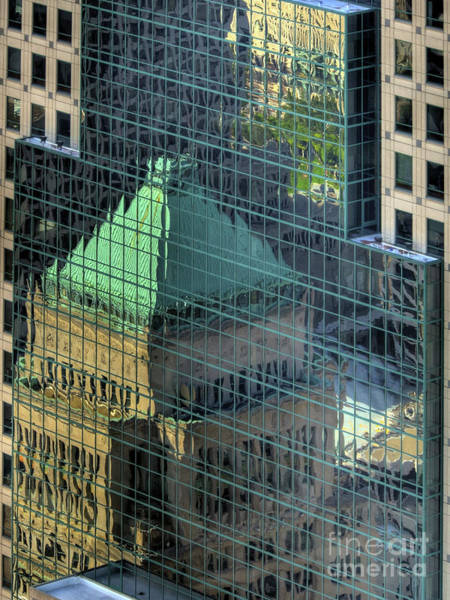 Photograph - Tower Reflections by Mel Steinhauer