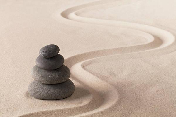 Balancing Rocks Photograph - Towering Balance by Dirk Ercken