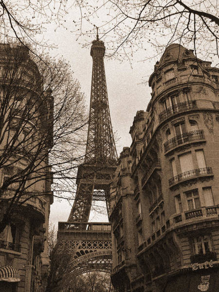 Photograph - Towering Eiffel by Mark Currier