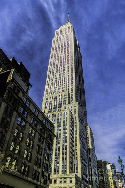Photograph - Towering Empire State Building by Nick Zelinsky