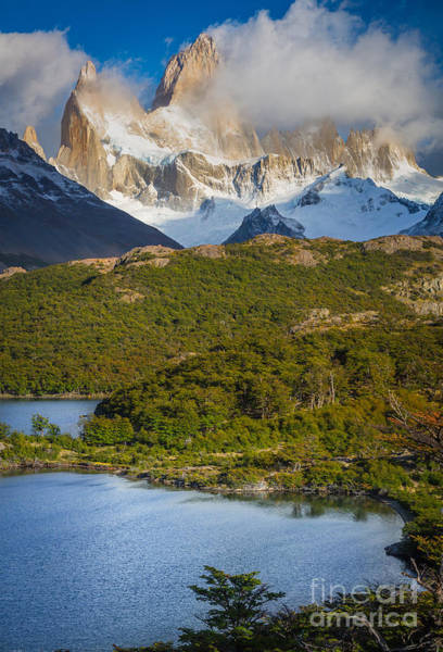 Andes Photograph - Towering Giant by Inge Johnsson