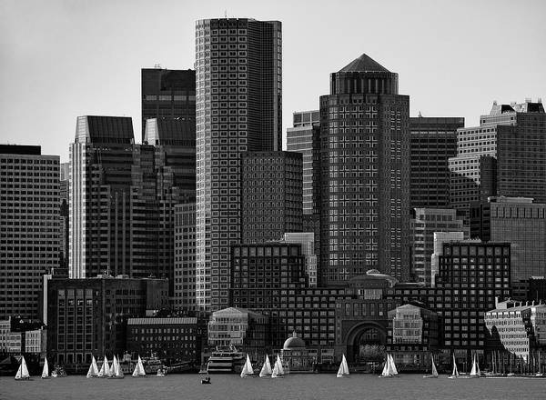 Sail Boat Photograph - Towers by Andreas Feldtkeller