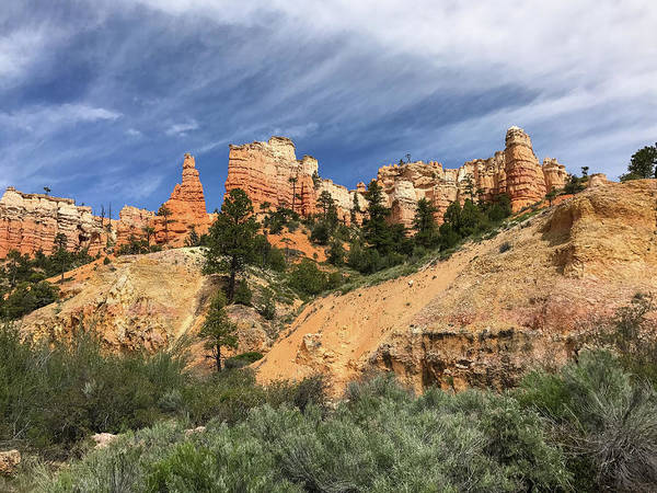 Photograph - Towers At Bryce by Bill Gabbert