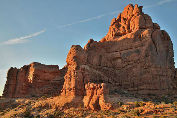 Photograph - Towers Of Garden Of Eden In Arches National Park by Ray Mathis
