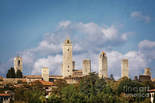 Photograph - Towers Of San Gimignano by Scott Kemper