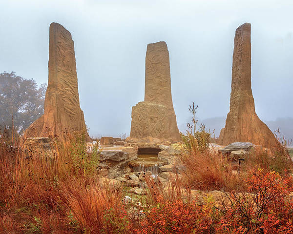 Photograph - Towers Of Time by Susan Rissi Tregoning
