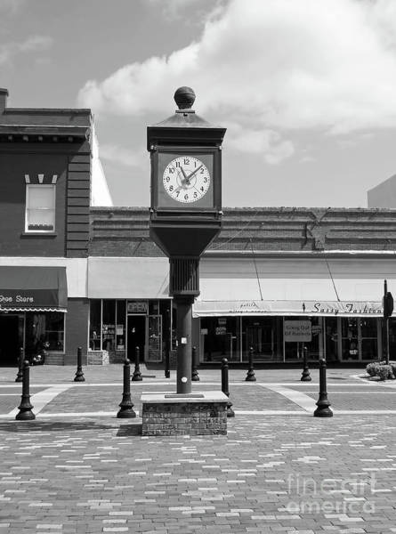 Photograph - Town Clock by D Hackett