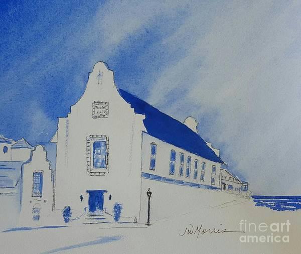 Rosemary Painting - Town Hall, Rosemary Beach by Jill Morris