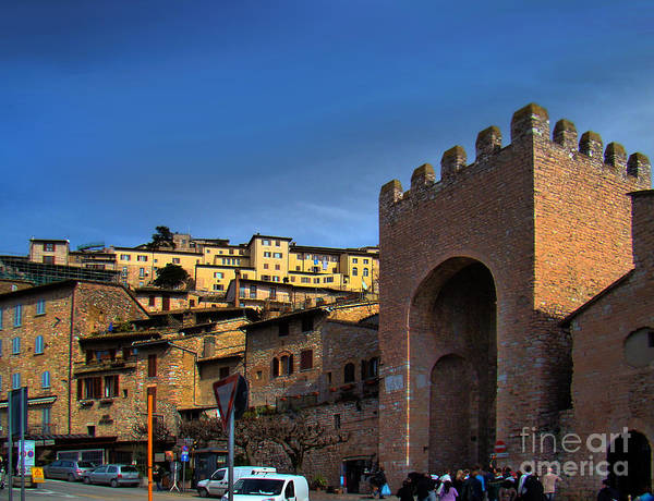 Wall Art - Photograph - Town Of Assisi, Italy by Al Bourassa