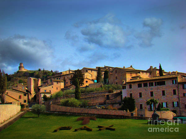 Wall Art - Photograph - Town Of Assisi, Italy II by Al Bourassa