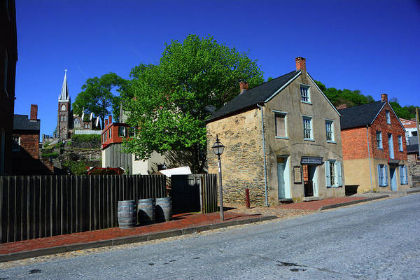 Photograph - Town Of Harpers Ferry by Raymond Salani III