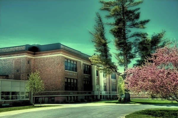 Photograph - Town Of Webb Schools - Postcard by David Patterson