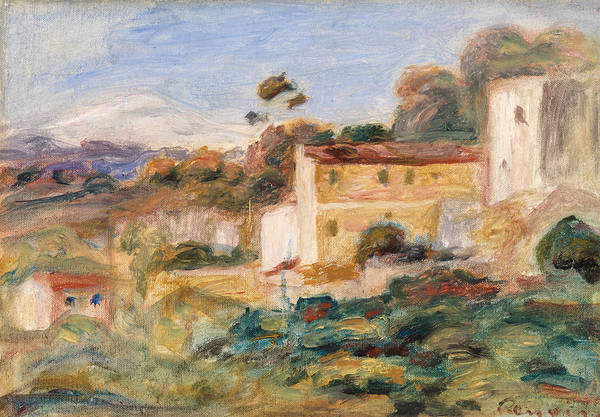 Wall Art - Painting - Town by Pierre-Auguste Renoir