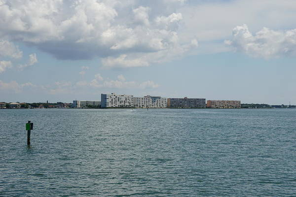 Willett Photograph - Town Shores Waterfront Buildings by Mike Willett