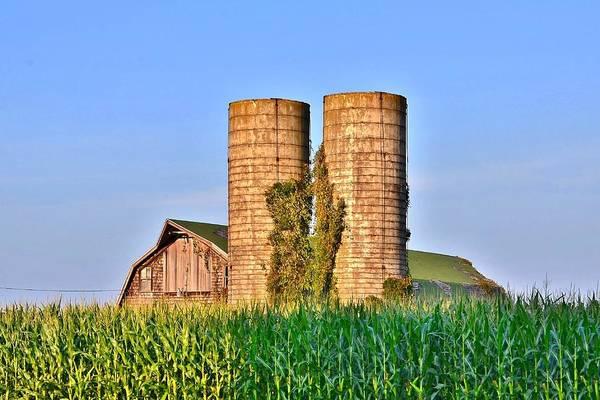 Photograph - Townsend Barn 5 by Kim Bemis