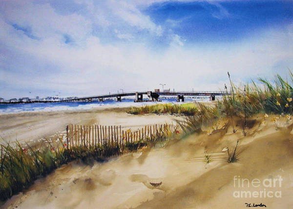 Painting - Townsends Inlet by Phyllis London