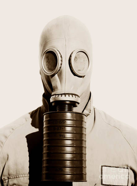 Gasmask Photograph - Toxic 1942 by Jorgo Photography - Wall Art Gallery