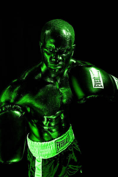 Photograph - Toxic Boxer by Val Black Russian Tourchin